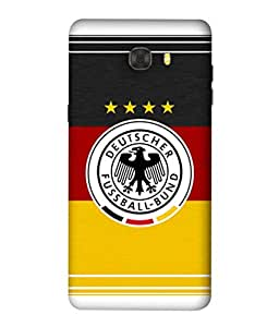 ColorKing Football Germany 15 Multicolor shell case cover for Samsung C9 Pro