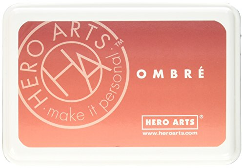 Hero Arts Ombre Ink Pad, Light to Red Royal ()