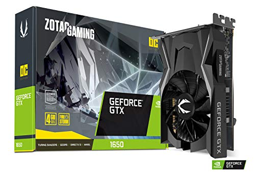 ZOTAC Gaming GeForce GTX 1650 OC 4GB GDDR5 128-Bit Gaming Graphics Card, Super Compact, ZT-T16500F-10L (Best Cpu Cooler For The Money 2019)