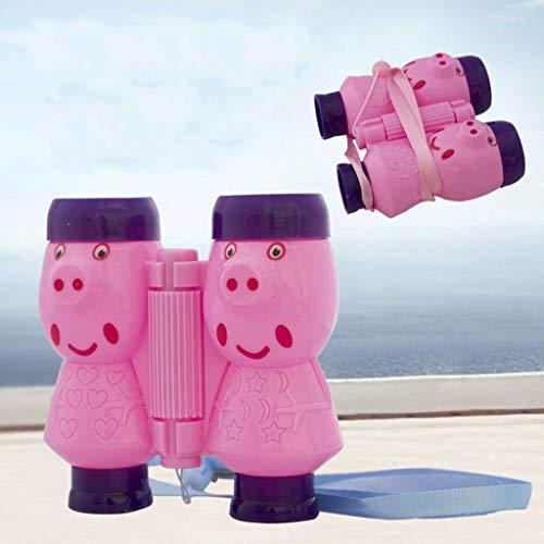 Flurries Projector Binoculars Pink Educational Device Bright