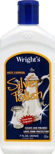 Wright's Silver Polish Anti-tarnish By Weiman 7 Oz / 207 Ml (Pack of 2) ()