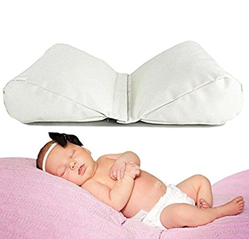 Fordicher Newborn Baby Photography Butterfly Posing Pillow - 2 Set Posing Props for Infant Boy and Girl Photoshoot- Suitable for 0 to 6 Months Baby Photo Prop (Picture Photo Pillow)
