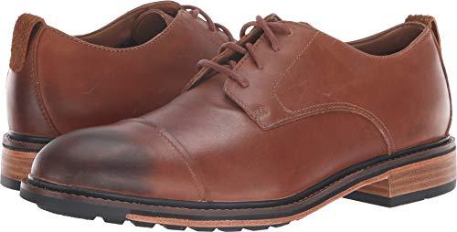 Bostonian Men's Costigan Cap WP Dark Tan Leather 10.5 M US M (D)