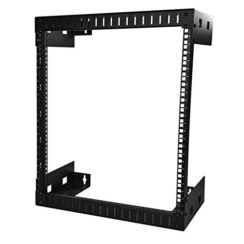 StarTech.com Wall Mount Server Rack - 12U Rack - 12in Deep - Open Frame - Network Rack - Wall Mount Rack - Equipment Rack - 2 Post (Startech Wall Mount)