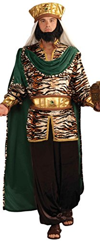Emerald Wiseman Adult Costume Mens Biblical Christmas Manger Nativity Wise Man ()