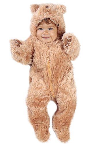 Teddy Bear Costume Baby (Princess Paradise Baby's Snuggle Bear Deluxe, As Shown, 3/6M)