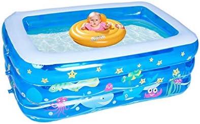 LYM & bañera Plegable Piscina al Aire Libre del jardín, baño de la ...