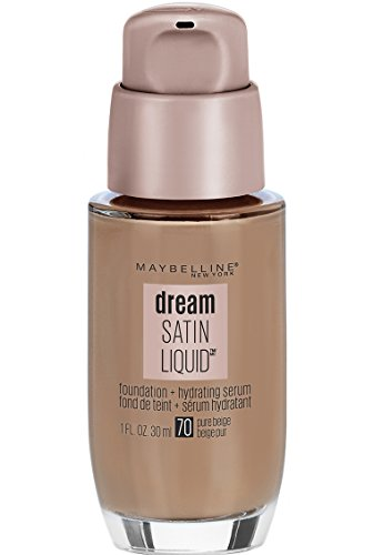 Maybelline New York Dream Satin Liquid Foundation (Dream Liquid Mousse Foundation), Pure Beige, 1 fl. oz. ()