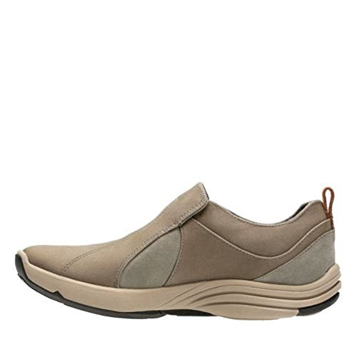 CLARKS Women's Wave River Sage Nubuck 8.5 B US