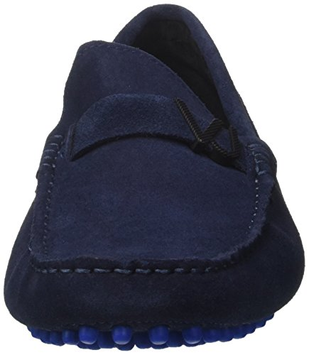 Versace YRBSF2 70073 Jeans Beige Blue Moccasins 723 HrHwq
