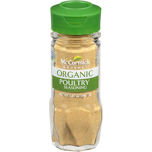 McCormick Gourmet Organic Poultry Seasoning, 0.87 oz - Mccormick Poultry Seasoning