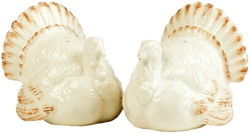 Mikasa Countryside Harvest Turkey Salt-and-Pepper Shakers