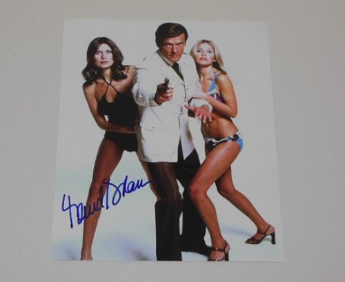 The Man with the Golden Gun 007 James Bond Girl Maud Adams Signed Autographed 8x10 Glossy Photo Loa (Maud Adams A View To A Kill)