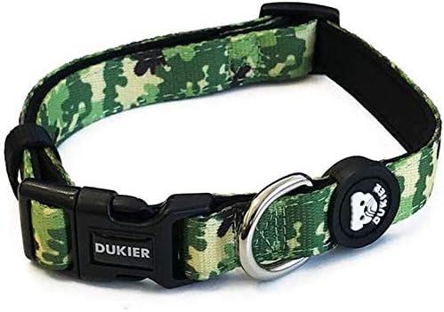 Dukier - Collar para Perro Ajustable y cómodo con Estampados Originales: Amazon.es: Productos para mascotas