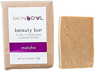 product image for Skin Owl - All Natural/Vegan Matcha Beauty Bar (For Aging/Tired Skin)