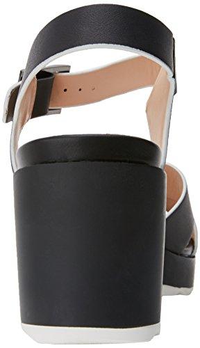 MTNG Women's Bahama Platform Sandals Black (Pisces Black ) T3Qulm2q