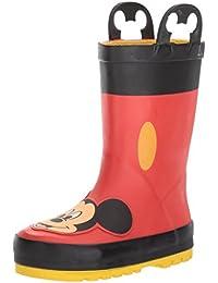 Boys Printed Rain Boot