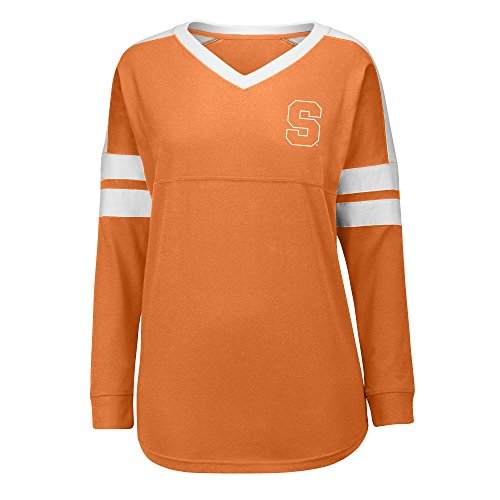 J America NCAA Syracuse Orange Women's Gotta Have It Cheer Tee, Large, (Syracuse Orange Jerseys)