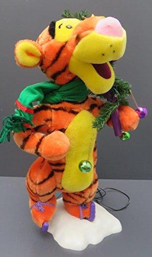 Animated Disney Tigger Christmas Tree Telco Motion-ette Doll