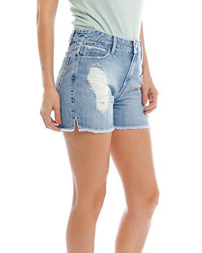 34 - - Shorts Jeans Alto Fenda