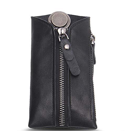 Petit Pratique Et À En clés bags Porte Keychain Main Hommes Cuir Casual De Black Mode Clés Simple Voiture Scsy Sac Pour 8wT4q