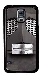 Big Face Gray Robot Custom Samsung Galaxy S5/Samsung S5 Case Cover Black