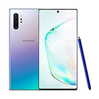 Samsung Galaxy Note 10+ Plus (5G) Single-SIM SM-N976B 512GB (GSM Only, No CDMA) Factory Unlocked 5G Smartphone - International Version (Aura Glow)