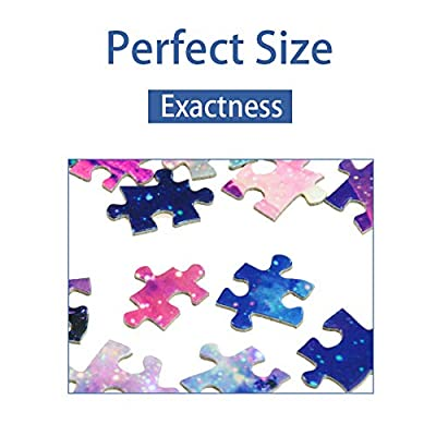 500 Pieces Large Jigsaw Puzzles for Adults, 18×11 Inch Puzzles, Landscape Difficult Puzzle Art for Men and Women (Colorful Street): Toys & Games