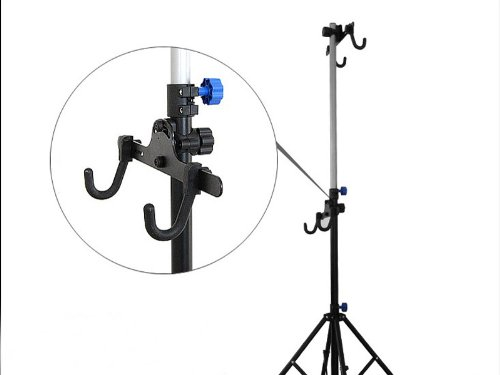 Wotefusi New Metal Portable Repair Storage Display Stand Adjustable For Outdoor Sports Road MTB Mountain Cycle Cycling Bicycle Bike by Wotefusi