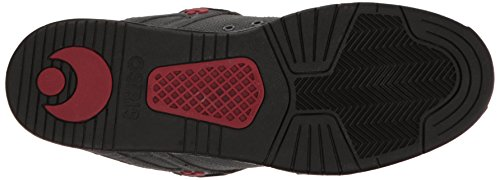 Osiris Mens PXL Skateboarding Shoe Charcoal/Black/Red HJhJ34