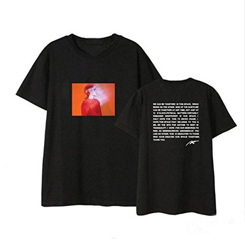 JUNG KOOK Kpop SHINEE Album Poet Artist Shirt Jonghyun Souvenir T-shirt Tee