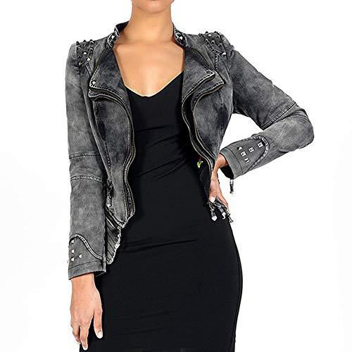 jacket plus punk long sleeve