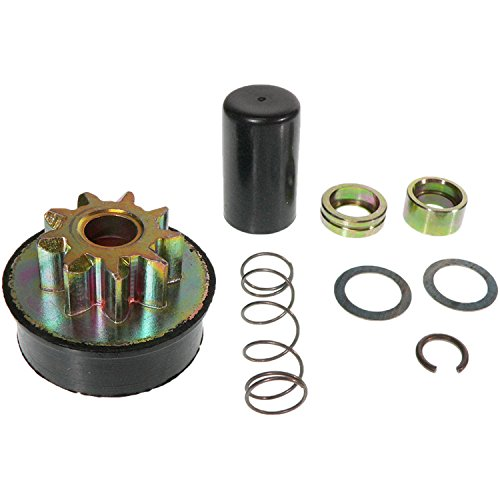 NEW STARTER DRIVE KIT FITS STARTERS FOR POLARIS SNOWMOBILE EDGE 1999-07 601150 2200754 6513540 6513540-KT30SM 637265 0645-380 RAREELECTRICAL