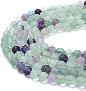 Pcs Frosted  Gemstones DIY Jewellery Making Aventurine Round Beads 6mm Blue 60
