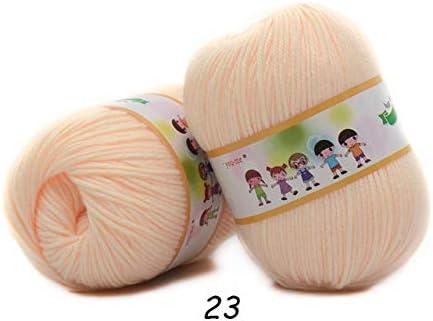 MXIANDM 1 unid Hilo de Tejer de Seda de algodón Hilo Suave y ...