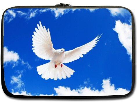 Price comparison product image Beautiful Design Peace White Dove Birds Macbook, Macbook Air 15 inch Laptop Sleeve / Laptop Bag / Laptop Cover / Laptop Sleeve Macbook Air Case Bags (Twin Sides)