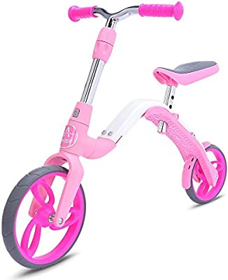 YOOYOO® Mini Kick Scooter Balanceo Bicicleta, Niña 2 Ruedas ...