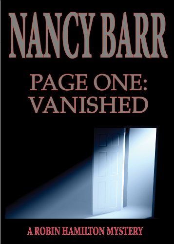 Page One: Vanished