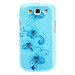 Flower Pattern Magical Noctilucent Hard Case for Samsung Galaxy S3 I9300