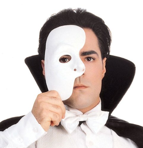 Phantom Of The Opera Mask (Phantom Of The Opera Costumes For Sale)