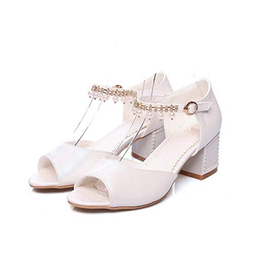 Ballerine Donna Bianco 35 AdeeSu White q5PRUw5d