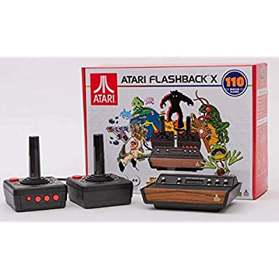 Atari Flashback X Retro Console 110 Built-in Games - 2 Wired Controllers - HD HDMI - Plug n Play: Toys & Games