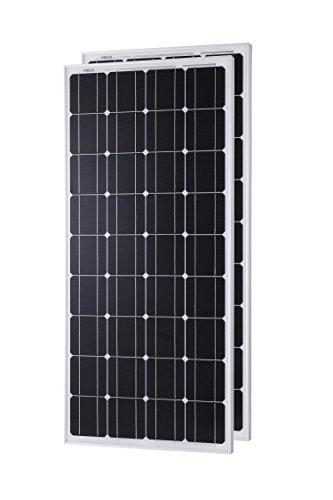 Komaes 200 Watts 12 Volts Monocrystalline Solar panel by KOMAES