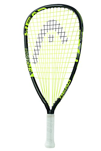 HEAD Unisex's Mx Cyclone Racquetball Racket, Black/Yellow