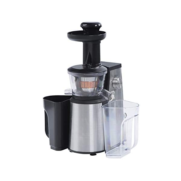 RGV Juice Art New Estrattore, 400 W, 1 Decibel, Acciaio Inossidabile, Argento - 2020 -