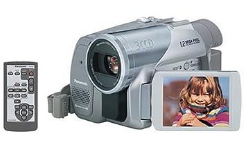 amazon com panasonic pv gs65 3 ccd minidv camcorder w 10x optical rh amazon com  panasonic pv gs65 manual