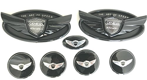 Exotic Wing - Exotic Store 7 Pieces 2010-2017 Fit for Black Hyundai Genesis