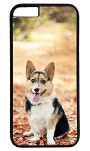 Cut Dog Pet Case for iPhone 6 Plus PC Black by Cases & Mousepads