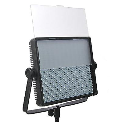 ePhotoInc 900 LED Dimmable Photography Studio Video DSLR Camera Light Panel 5400K/3200K Sony V mount CN900SD from Ephotoinc
