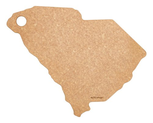 South Carolina State Tree - Epicurean State of South Carolina Cutting and Serving Board, 14.5 by 11